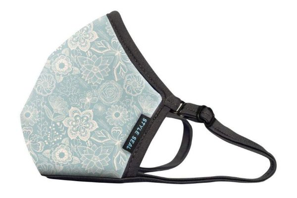 styleseal air mask flowers and butterflies no valve